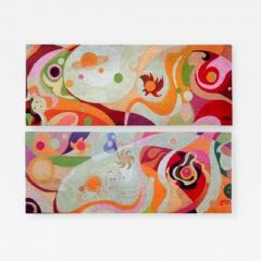 Erminio Lozzi Two large tapestries by Erminio Lozzi 1970s period - 915760