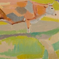 Ernest Yarrow Jones Ernest Yarrow Jones British b 1872 d 1951 Les Chenes Liege painting  - 2128879