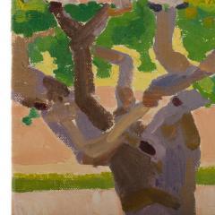 Ernest Yarrow Jones Ernest Yarrow Jones British b 1872 d 1951 Les Chenes Liege painting  - 2128898