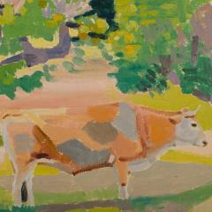 Ernest Yarrow Jones Ernest Yarrow Jones British b 1872 d 1951 Les Chenes Liege painting  - 2128901