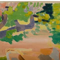 Ernest Yarrow Jones Ernest Yarrow Jones British b 1872 d 1951 Les Chenes Liege painting  - 2128910