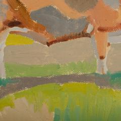 Ernest Yarrow Jones Ernest Yarrow Jones British b 1872 d 1951 Les Chenes Liege painting  - 2128976