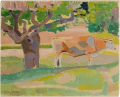 Ernest Yarrow Jones Ernest Yarrow Jones British b 1872 d 1951 Les Chenes Liege painting  - 2130858