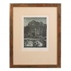 Ernst Fuchs Ernst Fuchs Under the Snow Lilith Print - 682303
