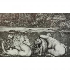 Ernst Fuchs Ernst Fuchs Under the Snow Lilith Print - 682304