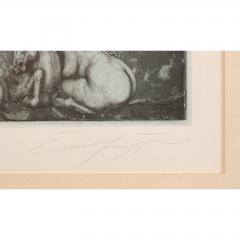 Ernst Fuchs Ernst Fuchs Under the Snow Lilith Print - 682307