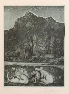 Ernst Fuchs Ernst Fuchs Under the Snow Lilith Print - 682707
