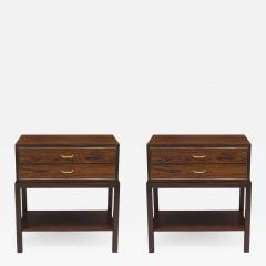 Ernst K hn Ernst K hn for Hansen Therp Rosewood nightstands - 968775