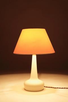 Esben Klint Esben Klint Holmegaard Opaline Glass Lamp 50s - 1849078
