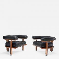 Esko Pajamies Pair of Polar Lounge Chairs by Esko Pajamies Finland 1960s - 1679820