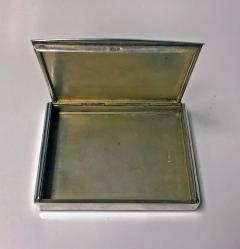Estonian Silver heavy Cigarette Case Estonia C 1925 - 1317065