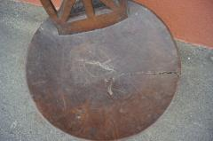 Ethiopian Chair of Carved Wood - 893260