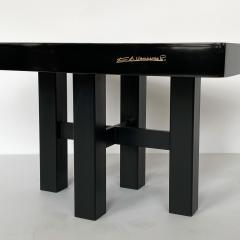 Etienne Allemeersch Pair of Etienne Allemeersch Pyrite Inlaid End Tables - 1275034