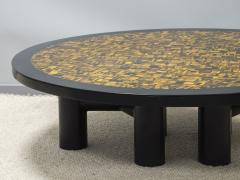 Etienne Allemeersch Tiger eye coffee table - 1830891