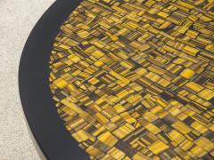 Etienne Allemeersch Tiger eye coffee table - 1830894