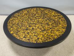 Etienne Allemeersch Tiger eye coffee table - 1830895
