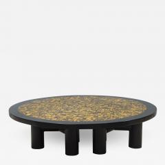 Etienne Allemeersch Tiger eye coffee table - 1832932