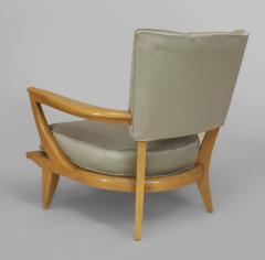 Etienne Henri Martin French 1950s Maple Armchair - 424711