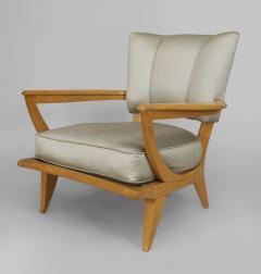 Etienne Henri Martin French 1950s Maple Armchair - 424713