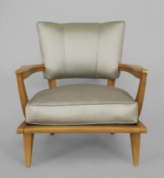 Etienne Henri Martin French 1950s Maple Armchair - 424714