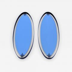 Ettore Sottsass Ettore Sottass Atributed Modernist Italian Mirrors - 1315098
