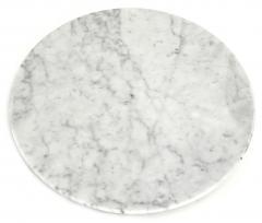 Ettore Sottsass Ettore Sottsass Primavera Carrara Marble Side Table Ultima Edizione - 1318106