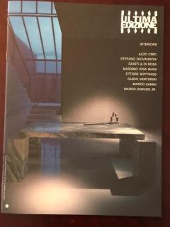 Ettore Sottsass Ettore Sottsass Primavera Carrara Marble Side Table Ultima Edizione - 1318108