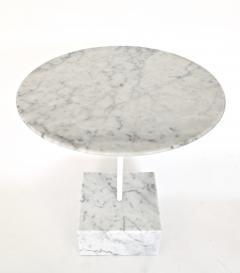 Ettore Sottsass Ettore Sottsass Primavera Carrara Marble Side Table Ultima Edizione - 1318111