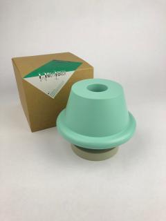 Ettore Sottsass Ettore Sottsass Senape Vase Light Blue Sand Gray  - 1363040