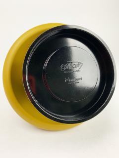 Ettore Sottsass Ettore Sottsass Senape Vase Yellow Ochre Umber  - 1375349