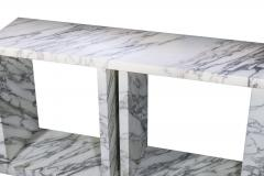 Ettore Sottsass Marble Console Table Made by Ettore Sottsass circa 1980 Italy - 1145230