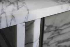 Ettore Sottsass Marble Console Table Made by Ettore Sottsass circa 1980 Italy - 1145232