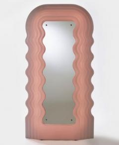 Ettore Sottsass Pink Ultrafragola Mirror Designed by Ettore Sottsass for Poltronova - 1795726