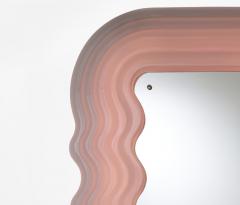 Ettore Sottsass Pink Ultrafragola Mirror Designed by Ettore Sottsass for Poltronova - 1795730