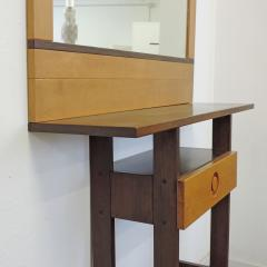 Ettore Sottsass Rare Arch Ettore Sottsass Jr Totem console with mirror for Poltronova  - 972025