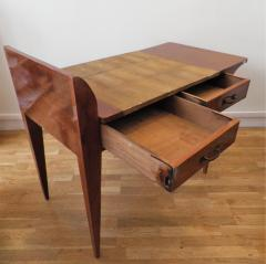Euge ne Printz Art D co wooden desk by Euge ne Printz - 907309