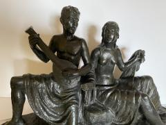 Eugen Mayer Fassold An Art Deco Figural Group of a Singing Couple - 1338631