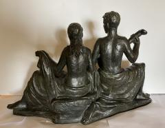 Eugen Mayer Fassold An Art Deco Figural Group of a Singing Couple - 1338632