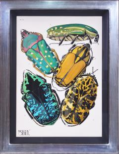 Eugene Alain Seguy Seguy A set of Eight Insects - 1059293