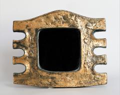 Eugene Fidler Miroir Azteque Glazed Ceramic Mirror - 894091