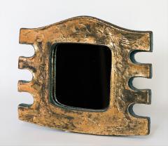 Eugene Fidler Miroir Azteque Glazed Ceramic Mirror - 894092