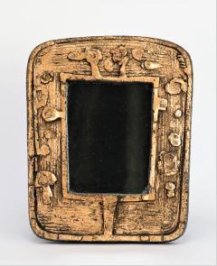 Eugene Fidler Miroir Empreintes Glazed Ceramic Mirror - 894130