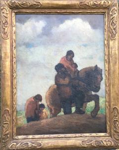 Eugene Higgins Traveling Family - 1628242