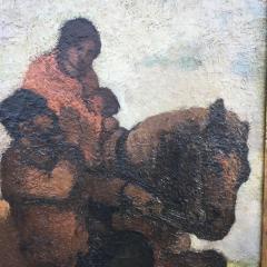 Eugene Higgins Traveling Family - 1628244