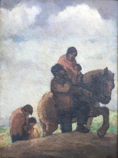 Eugene Higgins Traveling Family - 1628248