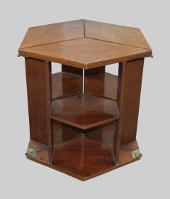 Eugene Printz Eugene Printz Walnut Folding Bookcase Table 1930 - 783975