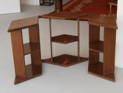 Eugene Printz Eugene Printz Walnut Folding Bookcase Table 1930 - 783979