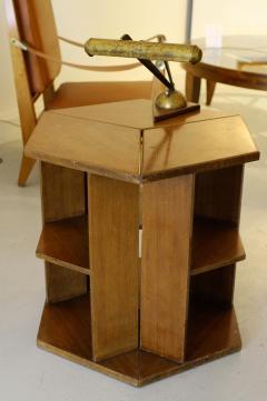Eugene Printz Eugene Printz Walnut Folding Bookcase Table 1930 - 783980