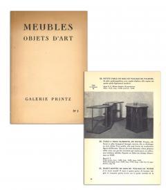 Eugene Printz Eugene Printz Walnut Folding Bookcase Table 1930 - 783981