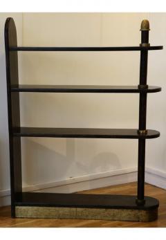Eugene Printz Exceptional Palmwood Bookcase by Eug ne Printz Art Deco France 1930s - 911380